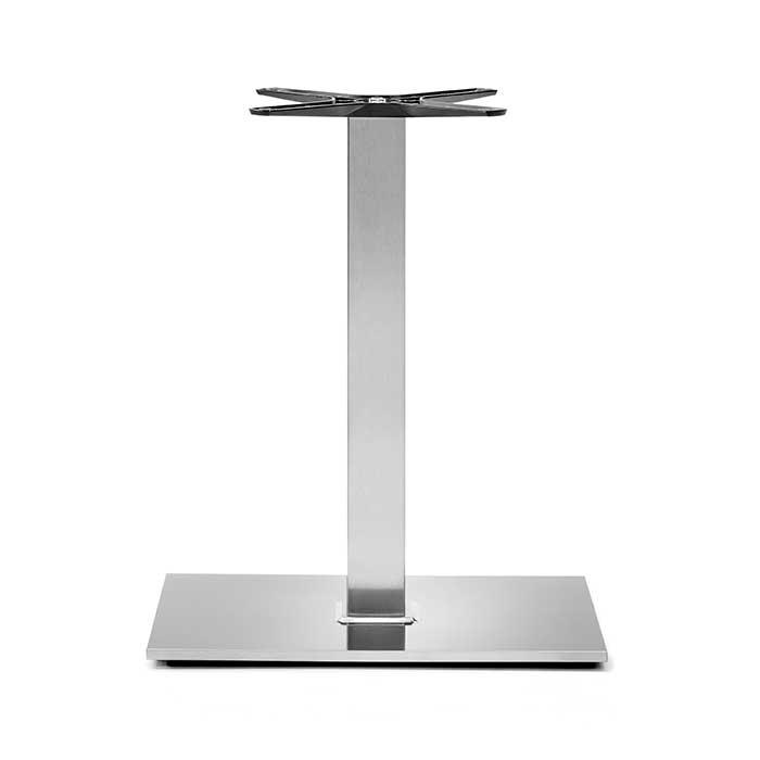 Base per tavolo in acciaio, modello 405QS